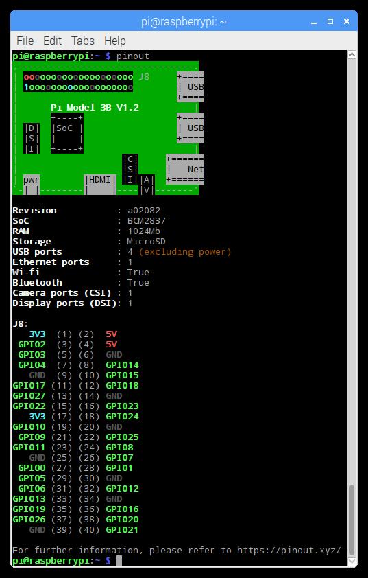 8  Command-line Tools — Gpiozero 1 5 1 Documentation